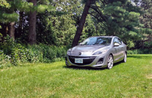 2010 Mazda 3 GT, NO ACCIDENT, NO RUST, CARPROOF, FULLY LOADED