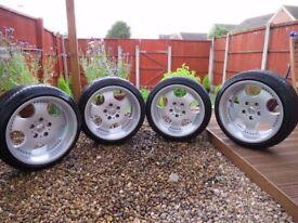 "17"" Oz Ceres Alloy wheels Brand New Tyres DEEP DISH"