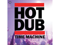 HOT DUB TIME MACHINE - Sat 12th August
