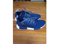 Adidas Nmd R1 trainers blue UK size: 9