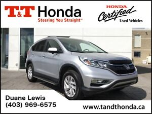 2015 Honda CR-V EX-L* No Accidents, Bluethooth/USB, Heated Seats