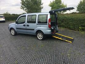 2009 (09) Fiat Doblo 1.4 8v Dynamic Wheelchair adapted Vehicle Low Miles 3 Seats