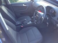 Audi A3 lovely car though out one previous owner full service history 62000 miles