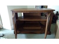 ***** PRICE REDUCTION FOR QUICK SALE ***** Quality Solid Oak TV Cabinet