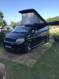 VW T5 Transporter Campervan - 2.5L - LWB - 205Bhp - Solar Panel - Ex Show Van - Immaculate Top Spec