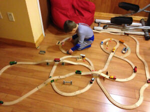 Imaginarium Train Table & wooden train set