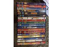 18 x children's Disney DVDs