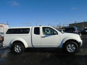2007 Nissan Frontier SE 4X4-WITH CANOPY-RUNS AND DRIVES EXCELLEN