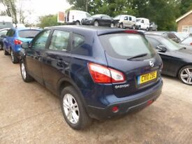 NISSAN QASHQAI - CX10ZBE - DIRECT FROM INS CO