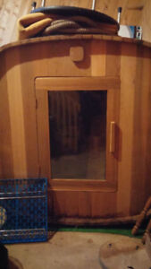 Cedar Barrel Sauna