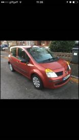 Renault Modus Just 55.000 Miles very good condition like NEW.