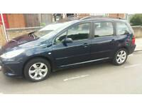 PEUGEOT 307 1.6S 5 DOOR ESTATE WITH 1 YEARS FULL MOT LADY OWNET FROM 2013
