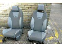 FORD FOCUS 5 DOOR ST3 HEATED INTERIOR TRIM SEATS 2005 - 2011