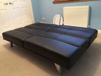 Sofa bed, computer chair, computer desk for sale
