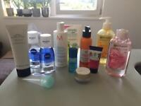 Beauty bundle (used and unused)