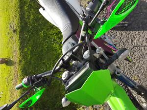 Kawasaki klx250s 2011