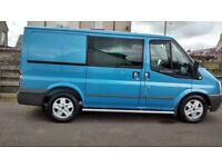 FORD TRANSIT 140 T280S CUSTOM LIMITED 2.2 TD 2010 MODEL