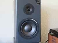Pair of Alesis MK2 Monitor One Passive Speakers