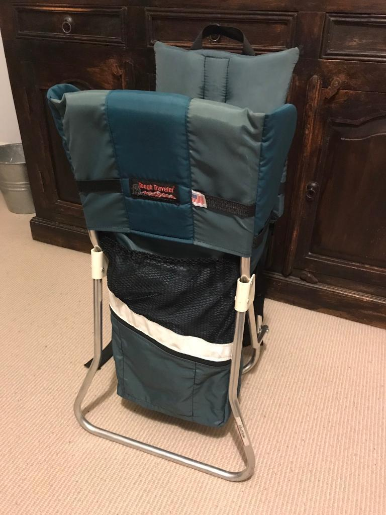 833430e6ac0 Tough Traveler (US brand) baby toddler backpack carrier metal frame  (walking hiking holidays)
