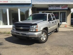 2006 Chevrolet Silverado 1500 LT 4x4 Crew Cab 5.7 ft. box 143.5