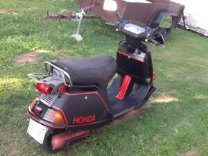 Honda Aero 70 Scooter For Sale