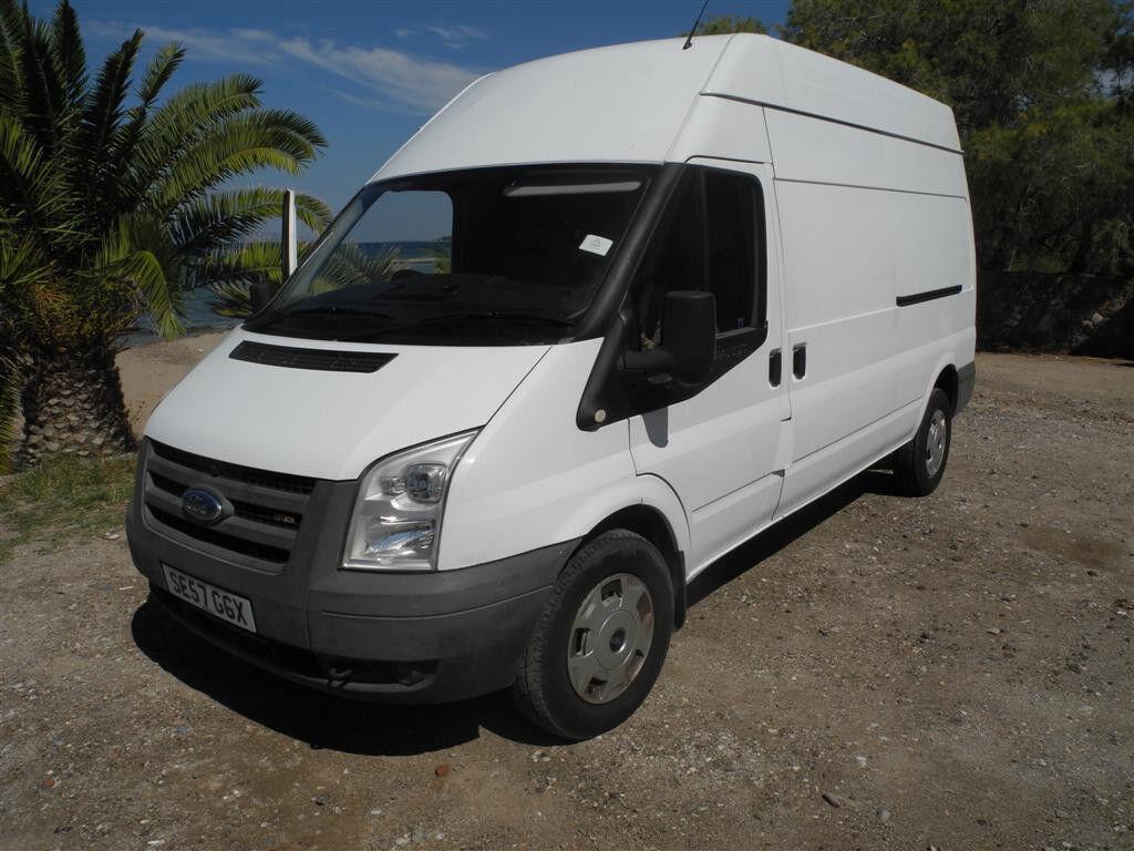 Ford Transit 2008, LWB, Hi-Top, 112k, VGC, MOT til March, Ideal for conversion