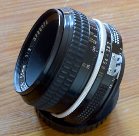 Nikon Nikkor 50mm f/2 AI lens, Near mint condition. Price is post paid.
