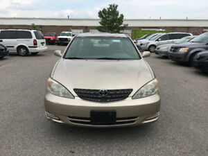 2003 Toyota Camry. CERTIFIED , E TESTED, WARRANTY, NO ACCIDENT
