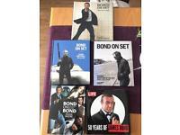 James Bond Hardback books