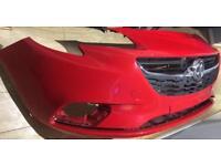 2017 Vauxhall Corsa E front bumper