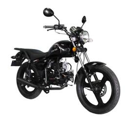 ZONTES TIGER CUSTOM 50cc OWN THIS BIKE FROM £7.50 WEEKLY EQUIVALENT