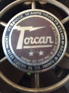 Antique torcan fan