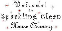 SPARKLING CLEAN HOUSE CLEANING cleaning service cleaning