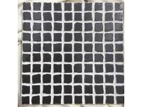 4.48m2 20x20 Ceramic Nero Mosaic Effect Tiles Job Lot End Of Line Clearance