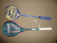 Squash rackets -- £1 each ??