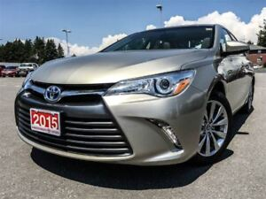 2015 Toyota Camry Hybrid XLE-LEATHER+NAVI!