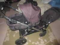 Baby Jogger City Select - Double / Tandem - Buggy / Pushchair / Pram