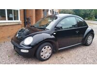 VW New Beetle 52 plate 1.6 - Low mileage Good Condition