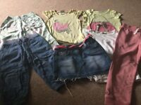 Bundle girls clothes age 7-8