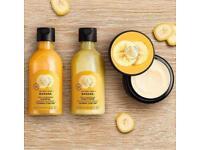 The Body Shop banana hair mask bundle