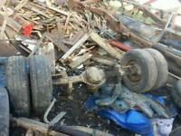 Ford ldv axles trailer farm