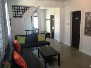 Nice partially furnished rooms for students. Available any time.