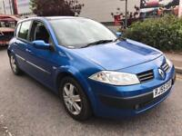 Renault megane 2005 1.6 Automatic 5 Door Hatchback