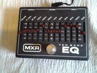MXR 10 BAND GRAPHIC