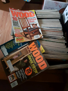 Free box of woodworking magazines
