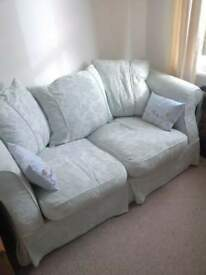 duck egg blue 2 seater sofa bed