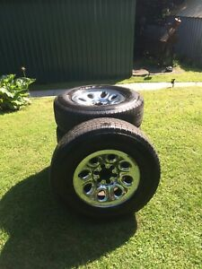 P265/70R17 Tires and Rims for Sale