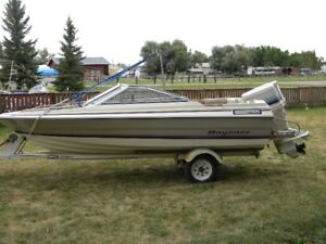 16' open bow ski/fishing boat for sale