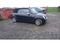 Mini cooper convertible, Recently MOT, all new tyres and brakes round. Rear parking sensors.
