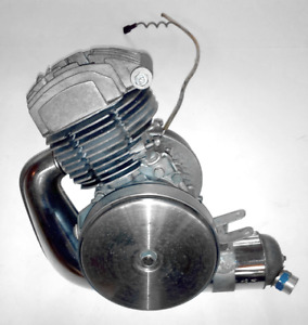 Vintage Motobecane Moped Engine